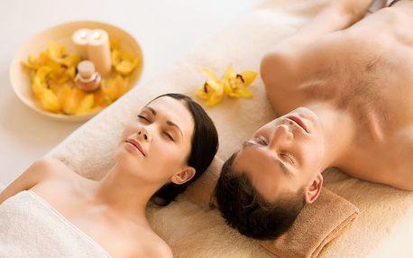 Thajská jasmínová relaxační olejová masáž pro dva u metra Anděl