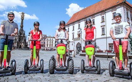 Komentovaná projížďka na segwayi po Olomouci