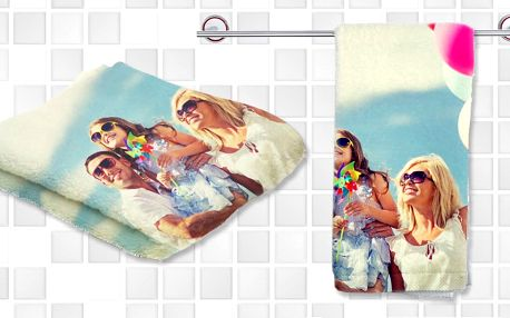Osuška nebo ručník s vlastní fotografií