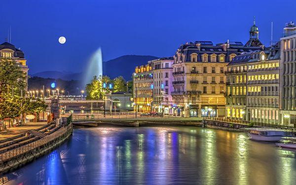 Autosalon v Ženevě: doprava, celodenní vstupenka i prohlídka města2