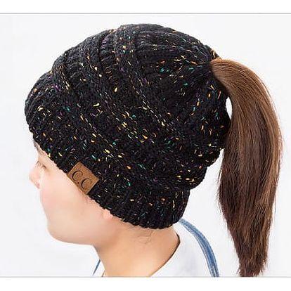 Zimní čepice pro dlouhovlasé