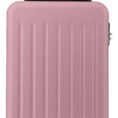 Růžový velký kufr Romero 1872