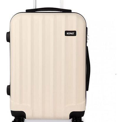 Dámský střední béžový kufr Trip 1773