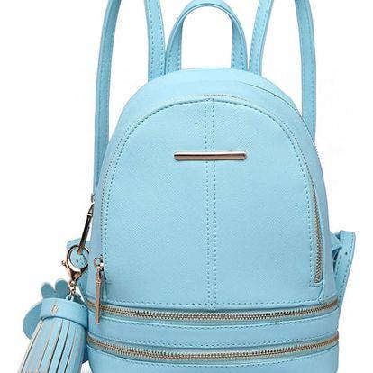Dámský modrý batoh Geisha 1705