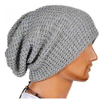 Pánská dlouhá zimní čepice