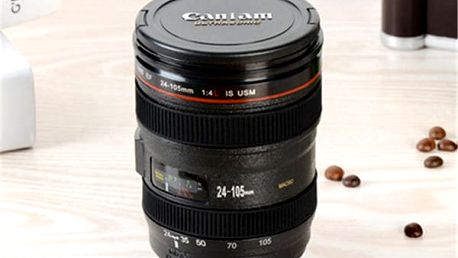 Hrnek na kávu v podobě objektivu - 480 ml