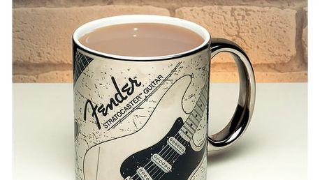 Chromovaný hrnek Fender