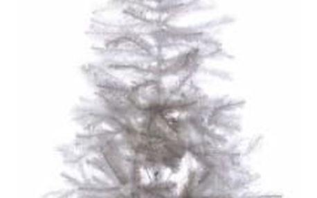 Nexos 32995 Umělý vánoční strom s třpytivým efektem - 150 cm, bílý