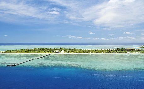 Maledivy, Jižní Atol Male, letecky na 9 dní plná penze