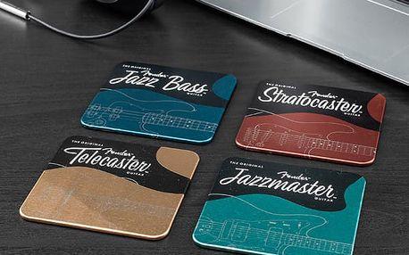 Kovové podtácky Fender