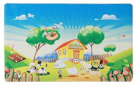 Tempo Kondela Dětský koberec Jenny zvířecí farma, 100 x 150 cm