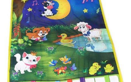 Dětský hudební kobereček - Noční louka