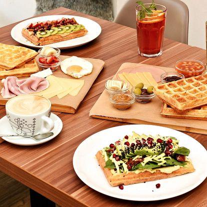 Otevřený voucher do Wafflin' na vafle i nápoje