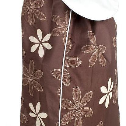 Brilanz Nákupní taška na kolečkách CARRIE, tmavě hnědá