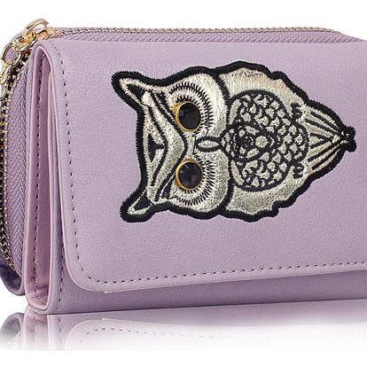Dámská fialová peněženka Anastasia 1080