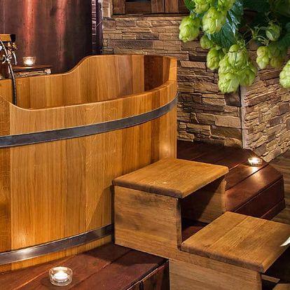 Relaxační balíček: sauna, masáž i koupel