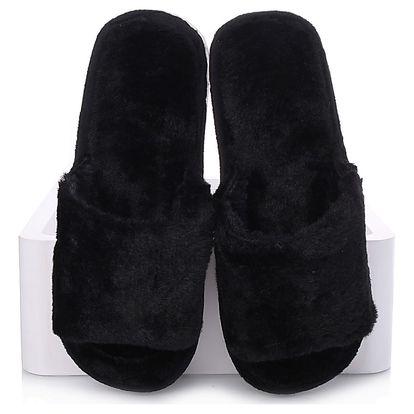 Prety Kožešinové pantofle 2018-8B Velikost: 38-39 (25,5 cm)