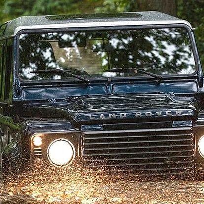 Zážitková offroad jízda: Land Rover a čtyřkolka