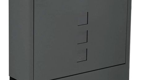 Richter Poštovní ocelová schránka Avila, antracitová