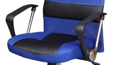 Kancelářské křeslo, černo/modré, TC3-973M 0000031341 Tempo Kondela