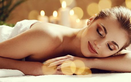 100minutová relaxační masáž s výběrem vonné esence