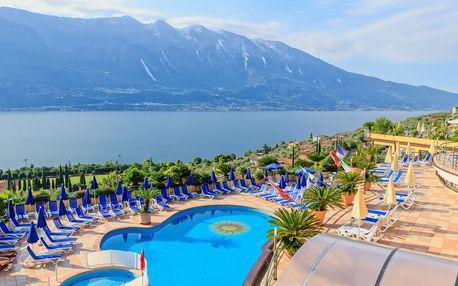 Lago di Garda od jara až do podzimu 2019 v hotelu přímo u jezera