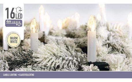 Světelný řetěz Genazzano teplá bílá, 16 LED