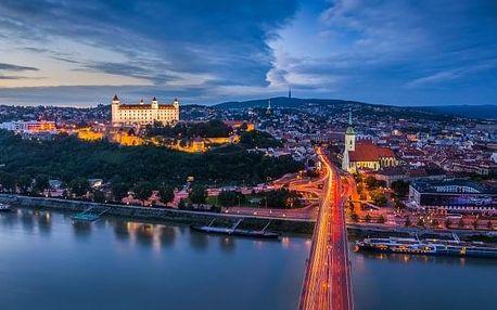Bratislava nedaleko centra až pro 3 osoby
