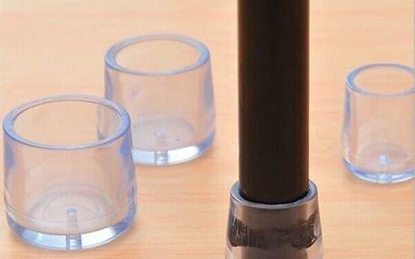 Gumové návleky na stůl či židle - 4 ks