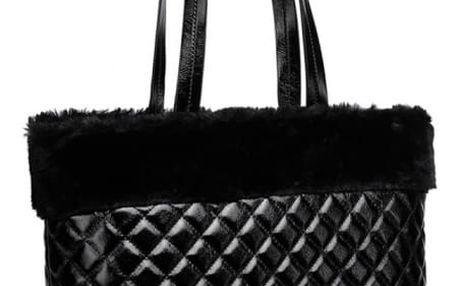 Dámská černá kabelka Monica 6826