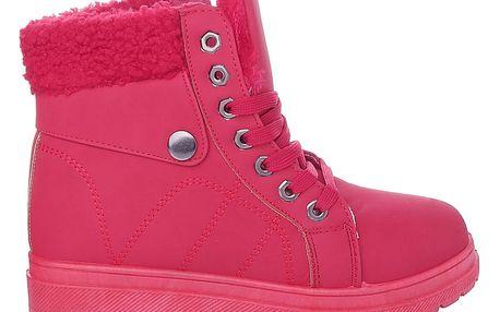Cabin Dámské zimní boty červené RA1010R Velikost: 38 (24,5 cm)