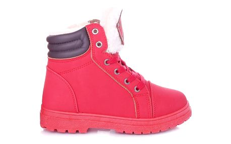Cabin Červené dámské zimní boty RA1011R Velikost: 36 (23,5 cm)