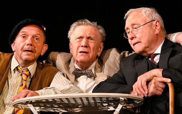 Vstupenka na představení v Divadle v Rytířské