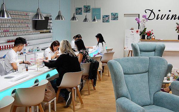 Manikúra a pedikúra v nádherném novém salonu