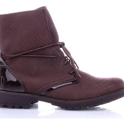 Ctogo GOGO Kotníkové boty 6723-5BR Velikost: 37 (24 cm)