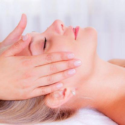 30minutová lymfatická masáž obličeje
