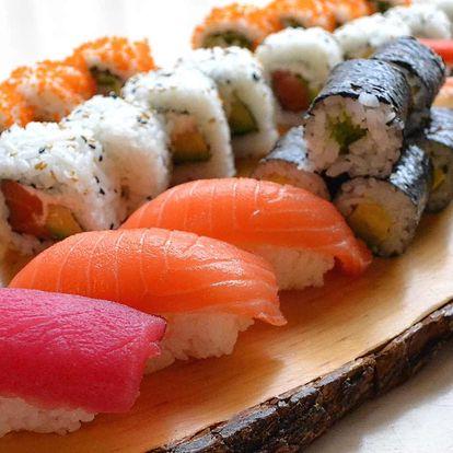 Asie v centru Prahy: 28, 40 nebo 56 kousků sushi