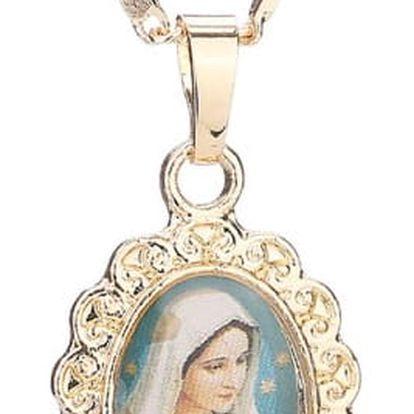 Vintáž náhrdelník s různým motivem svatých