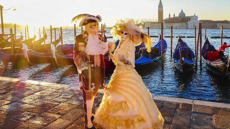 Autobusový zájezd na karneval v Benátkách na otočku či s ubytováním