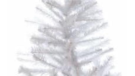 Nexos 32993 Umělý vánoční strom s třpytivým efektem - 120 cm, bílý