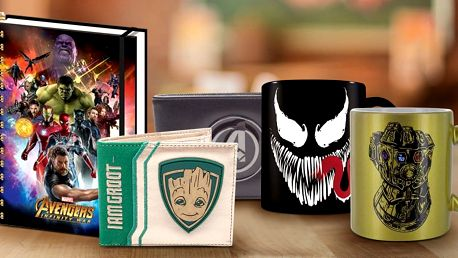 Dárky s motivy hrdinů ze světa Marvel