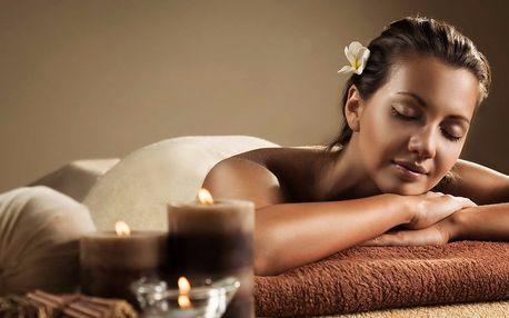 Celotělová 90minutová masáž vonným voskem