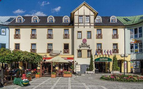 Březen a duben v centru Vrchlabí s wellness v Hotelu Gendorf ***
