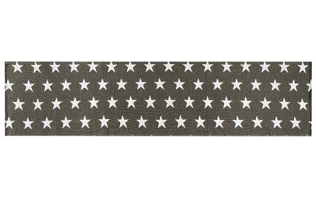 Dakls Běhoun Stars šedá, 33 x 140 cm