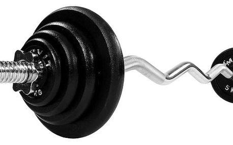 MOVIT Profi 1287 Činkový set 26 kg - činka + závaží