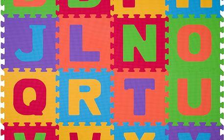 BABYONO Puzzle pěnová písmena 16ks