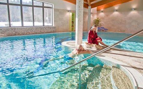 Beskydy: Sport Art Centrum Hotel **** nedaleko Pusteven s wellness a polopenzí