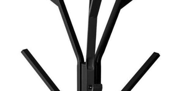 5five Simple Smart Stojan, věšák na bundy, stojan na kabáty TREE, černý stojan, výška 180 cm2
