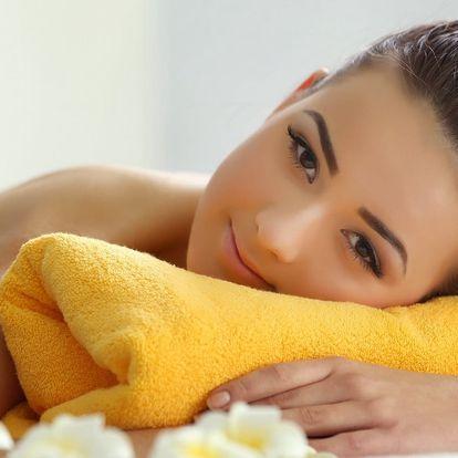 Relaxační masáž zad, krku a šíje nebo i celého těla