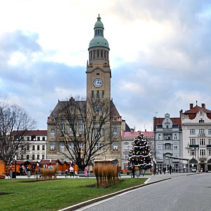 Pobyt v centru Prostějova: 3–4 dny s polopenzí